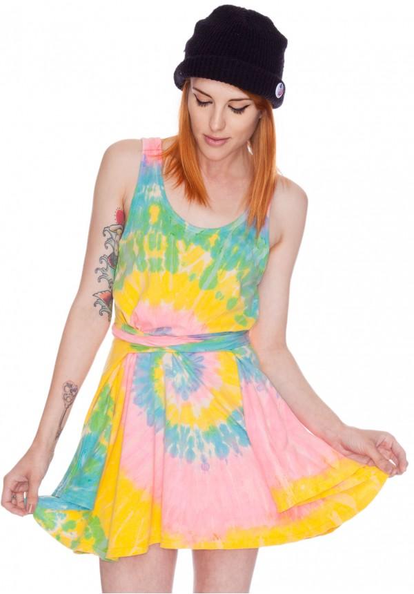 UNIF Deadstock Tie Dye Dress | Dolls Kill
