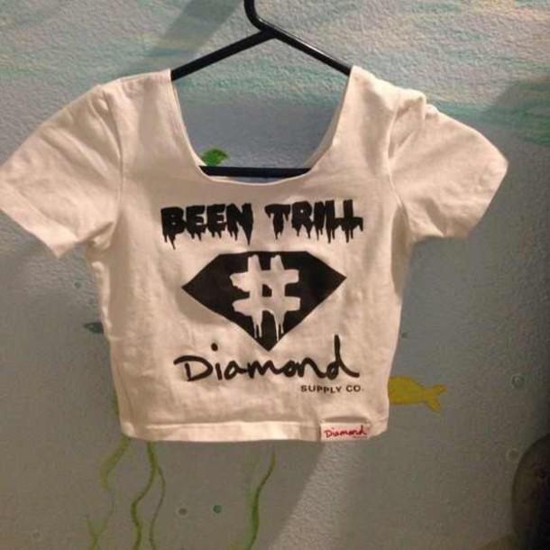 shirt been trill diamond supply co.