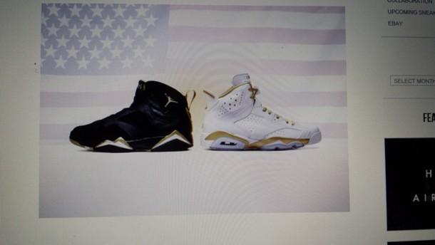 shoes jordans gold