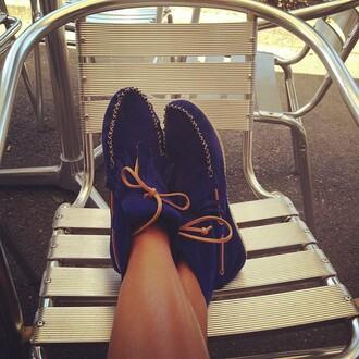 shoes blue shoes shy'm