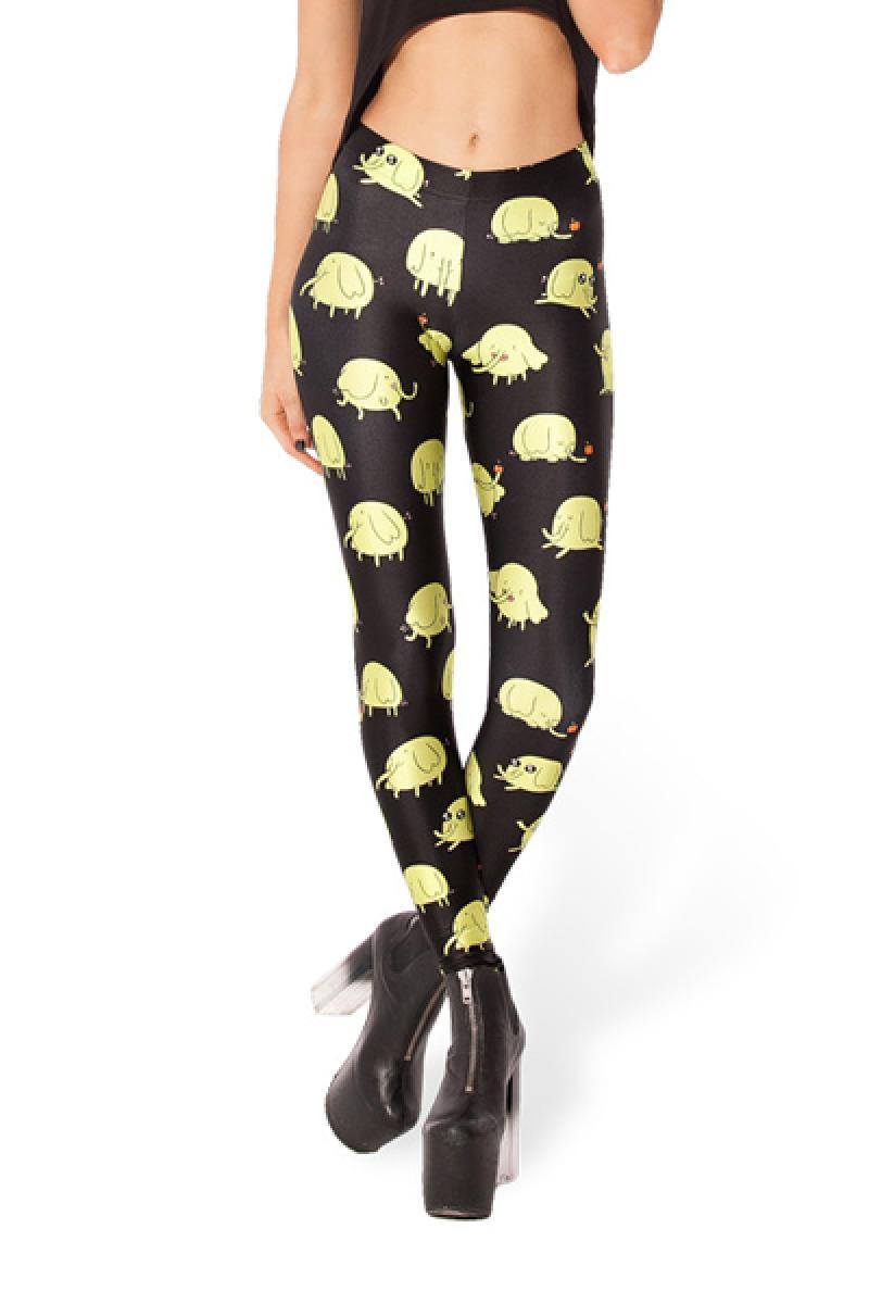 Elephants Pattern Printed Leggings,Cheap in Wendybox.com