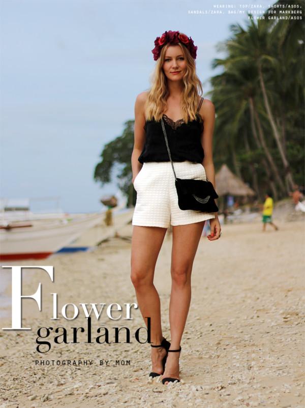 passions for fashion t-shirt shorts bag shoes