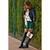 Dark Green Corduroy Skater Skirt  - Retro, Indie and Unique Fashion
