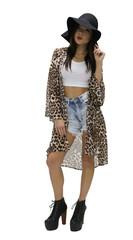 A Walk on the Wild Side Leopard Kimono – 87th&lex