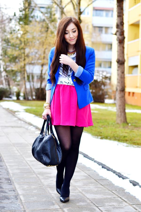 flirting with fashion coat jacket shirt skirt shoes bag