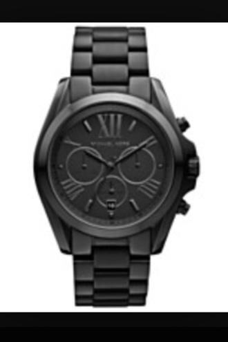 home accessory black watch women's michael kors
