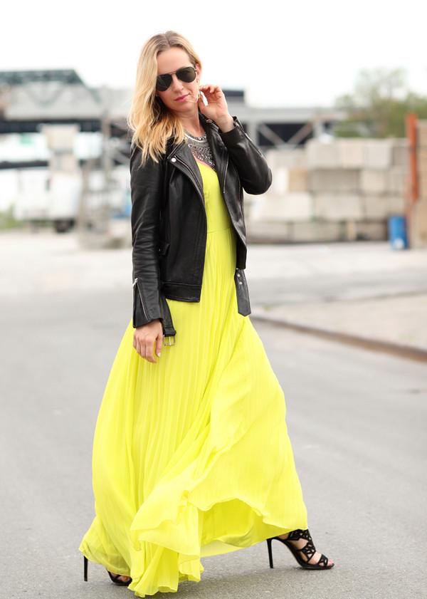 brooklyn blonde dress jacket shoes jewels