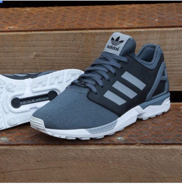 shoes adidas zx flux torsion greyy
