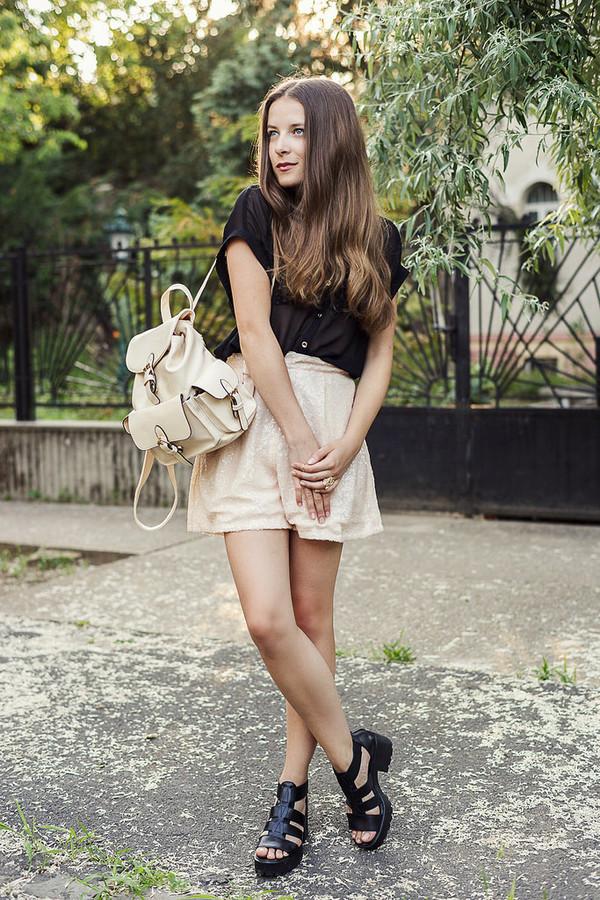 iemmafashion shorts blouse jewels shoes