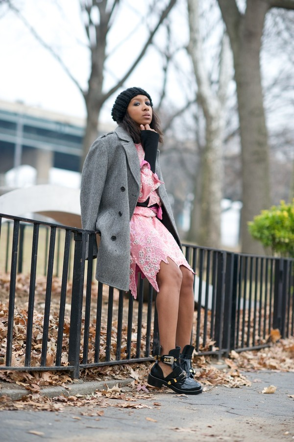 where did u get that coat dress shoes bag hat