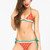 Lovelysally — Watermelon Lovelysally Triangle Bikini Top