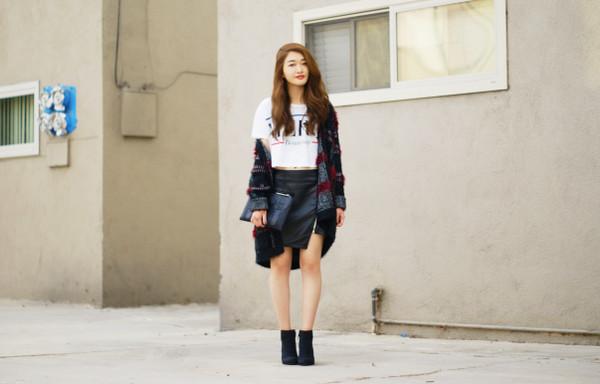rouge fox sweater t-shirt skirt bag shoes