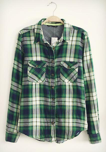 jacket plaid jacket plaid shirt plaid green