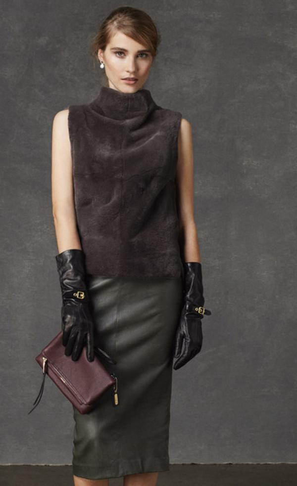 skirt coach lookbook fashion jacket bag