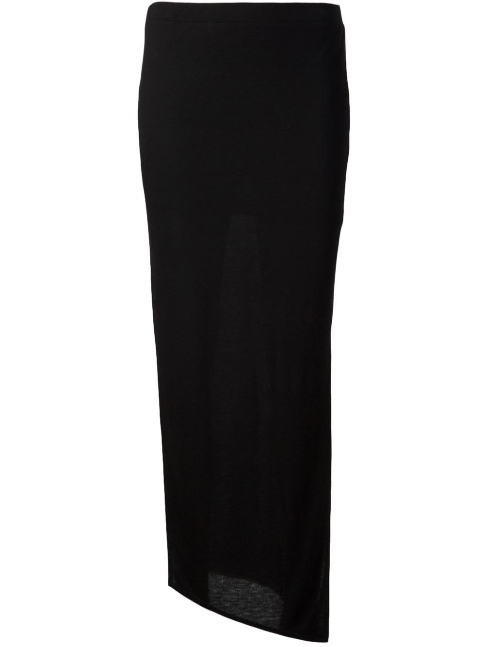 Helmut Lang Draped Skirt - Smets - Farfetch.com