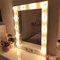 Makeup mirror with lights - vanity mirror - hollywood mirror wall hanging or self-standing - miroire maquilleuse