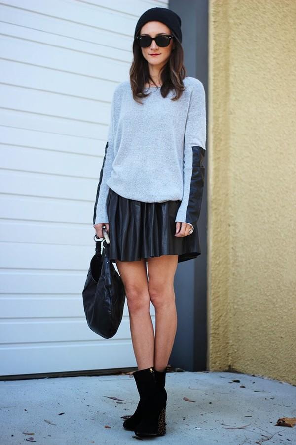 frankie hearts fashion sweater skirt shoes hat bag sunglasses