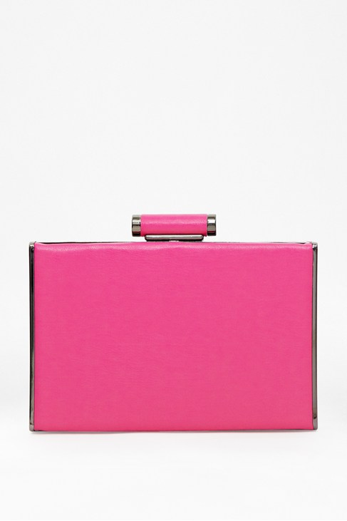 Brianna Box Clutch - Bags - French Connection Usa