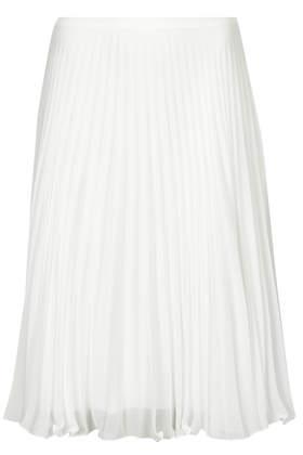 Sunray Pleat Midi Skirt - Topshop