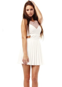 WHITE DRESS CUTOUT on The Hunt