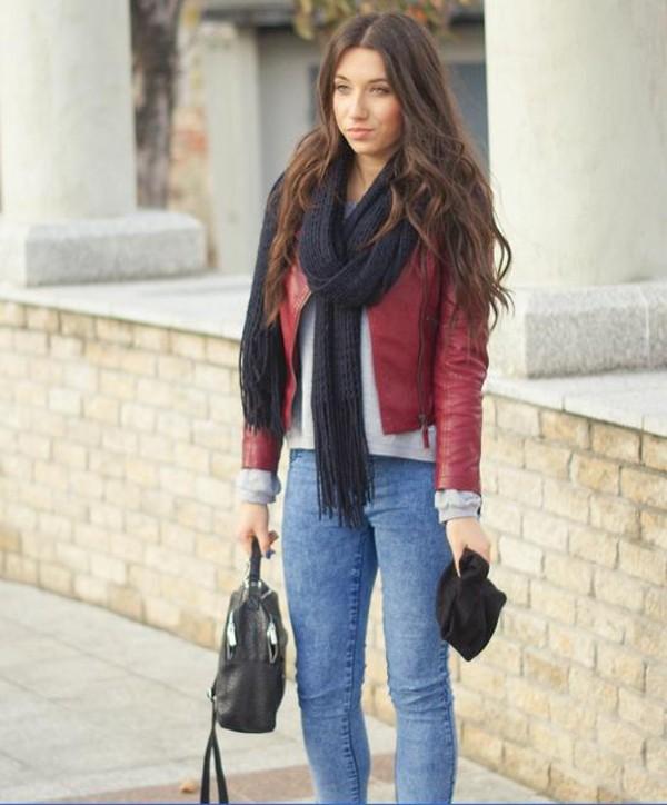 jacket coat leather jacket