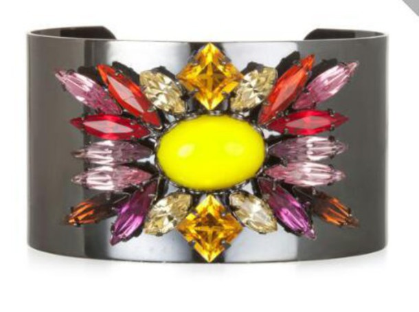 jewels bracelets cuff bracelet stones colorful jewelry