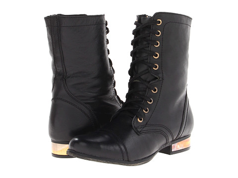 Steve Madden Troopale Black/Gold - Zappos.com Free Shipping BOTH Ways