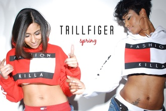 sweater hilfier crop tops white crop rose wholesale cropped fashion red curvy tommy hilfiger tommy hilfiger crop top killa trendy cool high heels hipster hippie dope ogvibes fashion killa cropped hoodie tumblr style