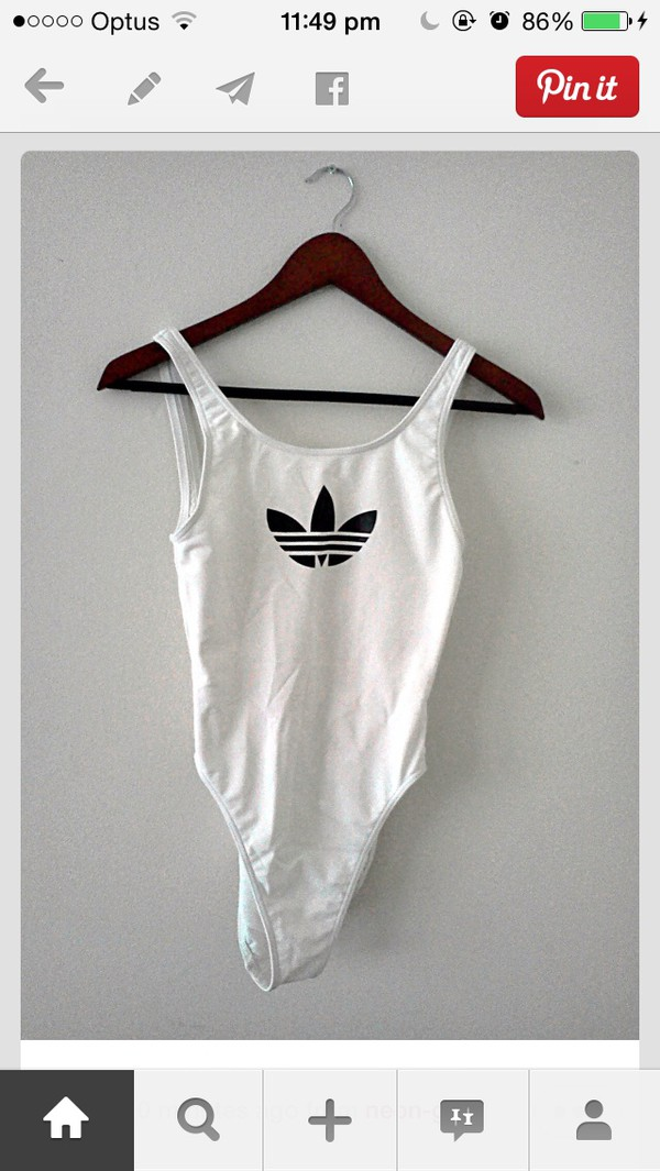 top bodysuit white adidas weed adidas wings tumblr