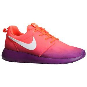 Nike Roshe Run - Women's - Running - Shoes - Laser Crimson/Bright Grape/White