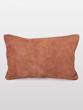 Medium Suede Carry-All Pouch | American Apparel
