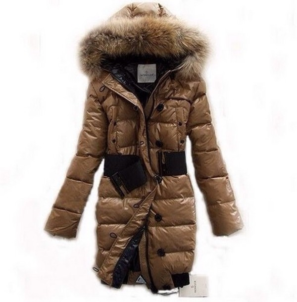 jacket moncler fur winter outfits down jacket