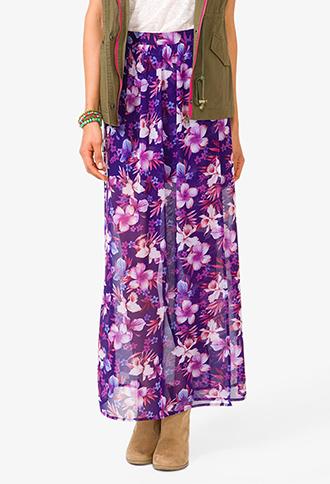 Aloha Maxi Skirt | FOREVER21 - 2030187468