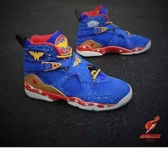 shoes blue wonder woman sneakers originals