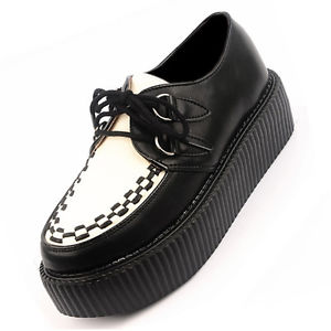 Black and White Creepers Shoes | eBay