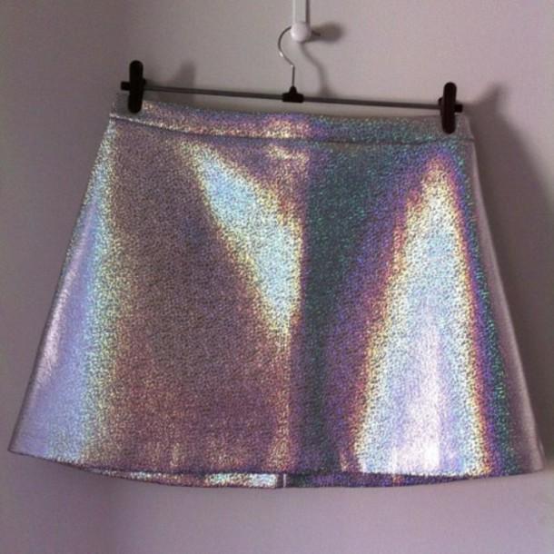 skirt vintage grunge hippie shirt hipster indie shiny glossie mirror grunge skirt