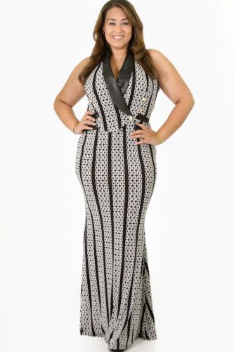 Giti Online Plus Size Women Nightclub Casual Sleeveless Chain Empire Dress | eBay