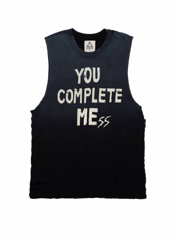 tank top you complete me you complete mess shirt