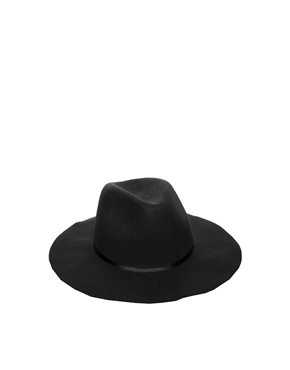 ASOS   ASOS Felt Fedora Hat at ASOS