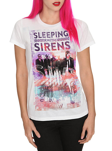 Sleeping With Sirens Mirage Girls T-Shirt | Hot Topic