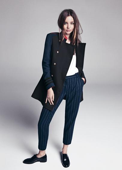 MANGO - NEW - Pinstripe wool-blend suit trousers