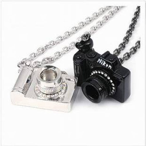 Occident Style Fashion Lovers Necklace Set Auger Camera | eBay