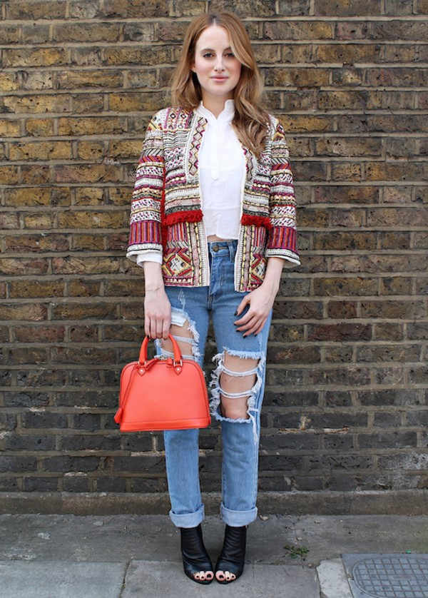 at fashion forte jacket top jeans bag shoes