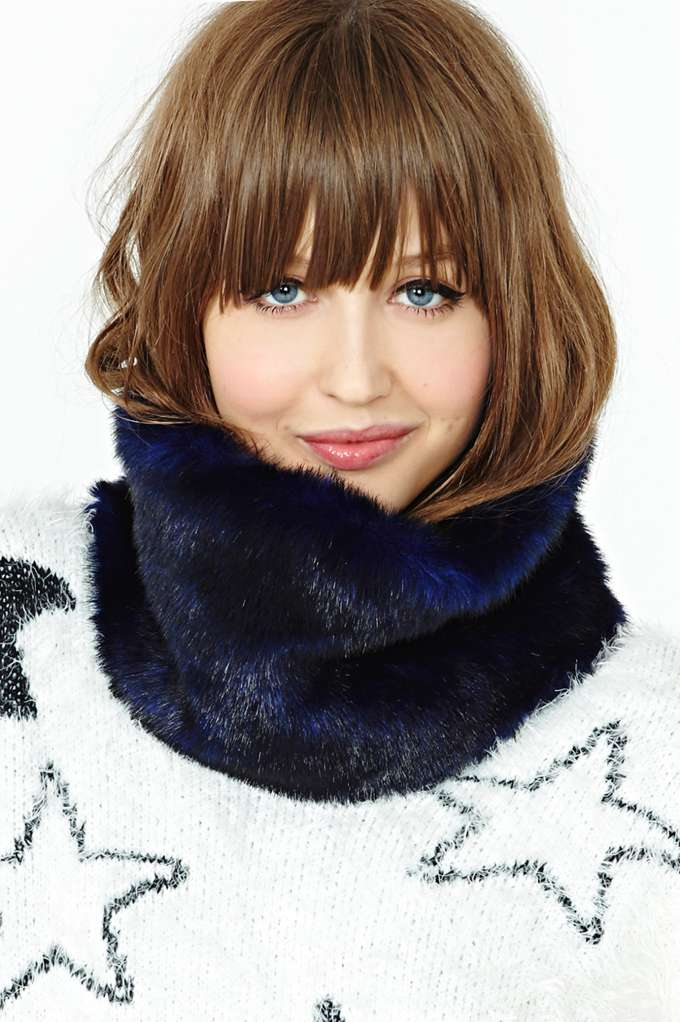 Nasty Gal Jetsetter Faux Fur Collar in  Accessories Sale at Nasty Gal