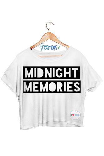 Midnight Memories Crop - Fresh-tops.com