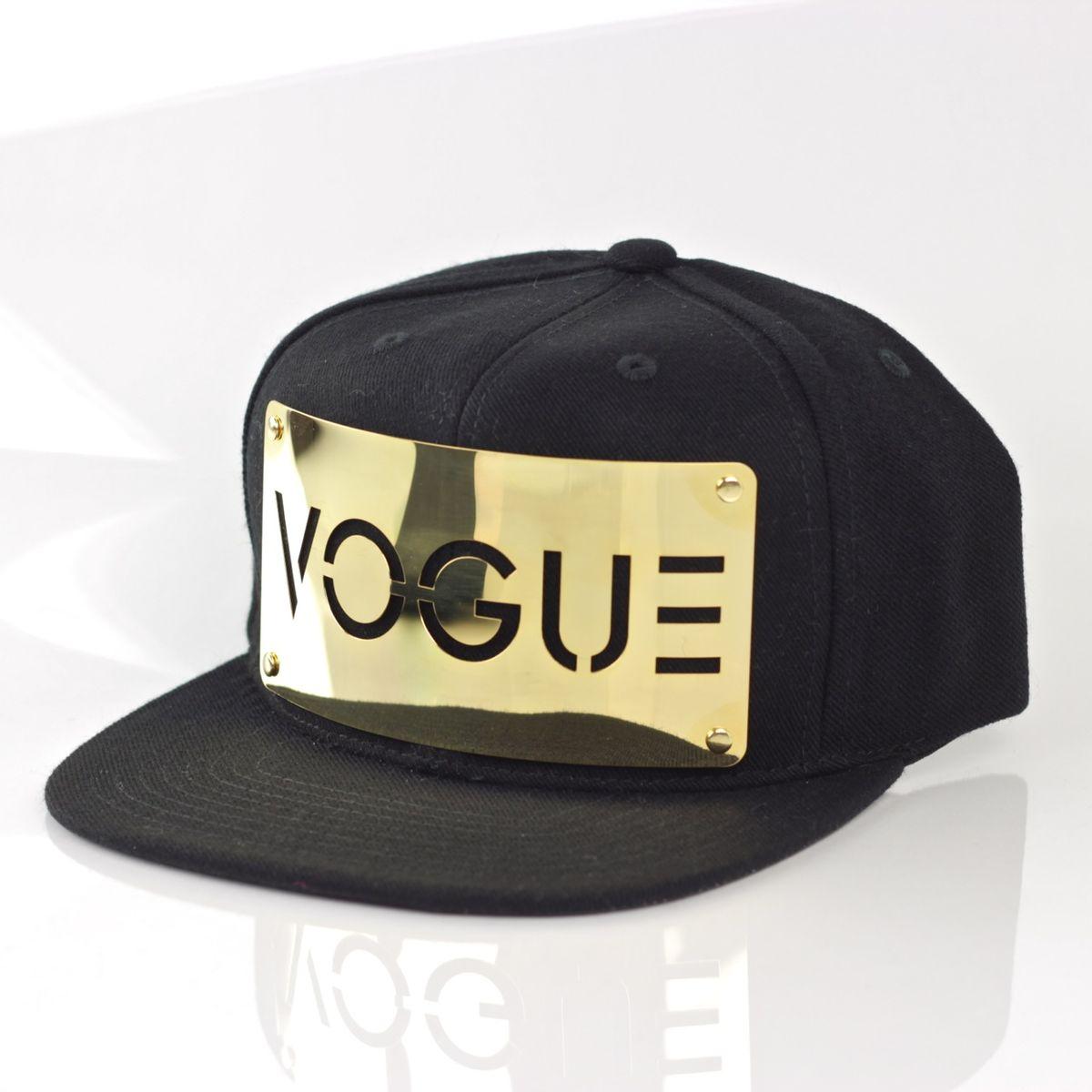 Vogue 18K Gold Snapback - Karl Alley Original Hardware