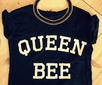 Group of: queen bee, tank, t-shirt, inspiration, hipster, primark, fashion, necklace | We Heart It