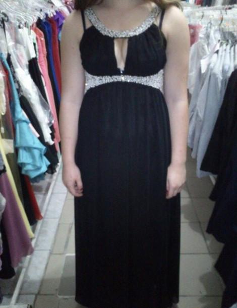 dress prom dress long prom dress homecoming beaded cut-out long dress