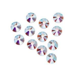 Amazon.com: HOTFIX Crystal AB Rhinestones Flatback 144 SWAROVSKI 2.8mm 10ss ss10: Arts, Crafts & Sewing