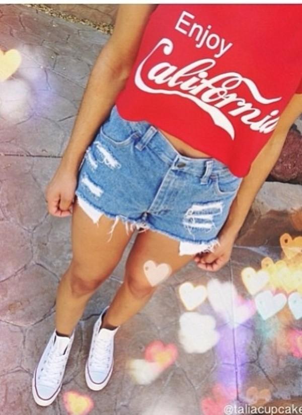 tank top enjoy california west coast summer outfits